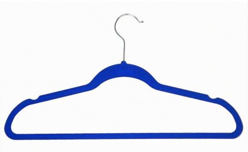 Blue Velvet Hangers